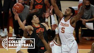 Cade Cunningham's 25 points not enough for Oklahoma State vs. Texas | College Basketball Highlights