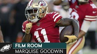 How Marquise Goodwin's Speed Helps an Offense | Eagles Film Room