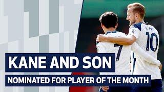 HARRY KANE AND HEUNG-MIN SON NOMINATED FOR PLAYER OF THE MONTH!