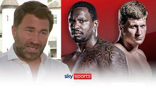 Eddie Hearn announces date for Dillian Whyte vs Alexander Povetkin II