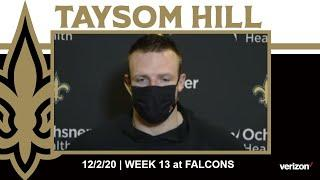 Taysom Hill Talks Saints Run Game, Falcons Defense | Saints-Falcons Week 13