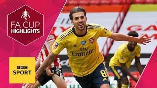 Ceballos' injury-time winner seals Arsenal victory over Sheffield United | FA Cup highlights