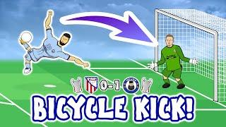 Olivier Giroud Bicycle Kick! Atletico Madrid vs Chelsea 0-1 Goals Highlights Champions League 2021
