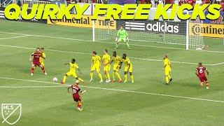 The wildest free kicks of all time!