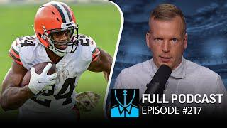 Week 13 Picks: Browns-Titans run-off; Upset in Lambeau? | Chris Simms Unbuttoned (Ep. 217 FULL)