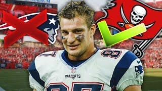 The REAL REASON Gronk DITCHED The Patriots and Joined His Buddy Tom Brady in Tampa