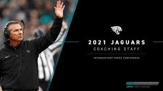2021 Jaguars Coaching Staff Introductory Press Conference