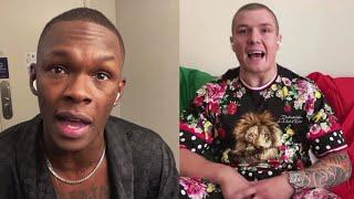 Israel Adesanya and Marvin Vettori Get Heated   Full Interview   UFC 263