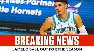 NBA Rookie of the Year front-runner LaMelo Ball OUT for season with wrist injury | CBS Sports HQ