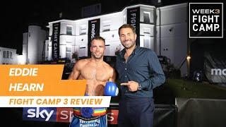 """""""What a card!"""" - Eddie Hearn reviews Fight Camp 3, Whyte vs Povetkin & future Fight Camp plans"""