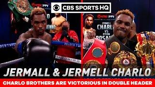 Charlo brothers fight recaps: Jermell and Jermall succeed in first PPV main events   CBS Sports HQ