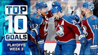Top 10 Goals from Week 3 of the Stanley Cup Playoffs