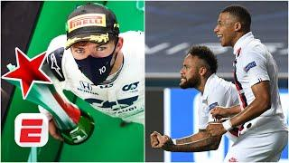 Mbappe, Neymar and the FRENCH PRESIDENT called Pierre Gasly after his Monza win | F1 2020