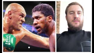 WHO WAS MORE AWKWARD TO FIGHT BETWEEN ANTHONY JOSHUA & TYSON FURY? - (FORMER OPPONENT) - OTTO WALLIN