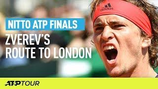 Zverev's Route to London | Nitto ATP Finals | ATP