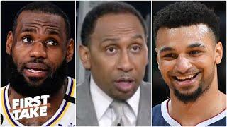 Stephen A. warns the Lakers to watch out for Jamal Murray in Game 4 | First Take
