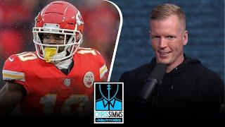 Chris Simms' top 10 Wide Receivers ahead of 2020-2021 season | Chris Simms Unbuttoned | NBC Sports