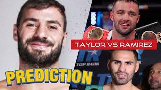LEWIS RITSON FAVORS JOSH TAYLOR TO BEAT JOSE RAMIREZ, TALKS MIGUEL VASQUEZ FIGHT