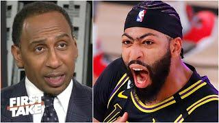 Stephen A. reacts to Anthony Davis' Game 2 buzzer-beater vs. the Nuggets | First Take