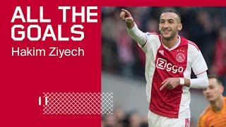 ALL THE GOALS - Hakim Ziyech ‍️