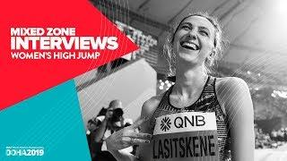 Women's High Jump Interviews | World Athletics Championships Doha 2019