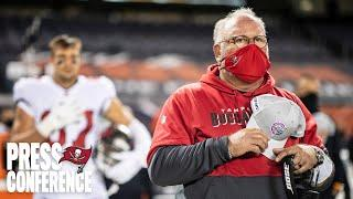 Bruce Arians on Antonio Brown & Tom Brady's 5 Touchdowns vs. Raiders | Press Conference