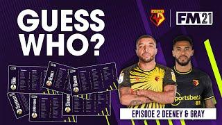 """WFC FOOTBALL MANAGER 2021 GUESS WHO? 