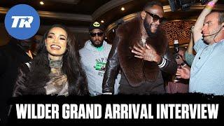 Deontay Wilder Promises to Finish Tyson Fury | GRAND ARRIVAL INTERVIEW | Wilder vs Fury 2