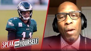 Should the Eagles bench Carson Wentz for Jalen Hurts? | NFL | SPEAK FOR YOURSELF