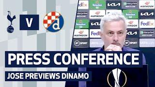 Mourinho talks Bale, squad fitness and Europa League ambitions ahead of Dinamo | PRESS CONFERENCE
