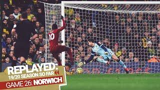 REPLAYED: Norwich 0-1 Liverpool | Mane spins and hits a winner at Carrow Road