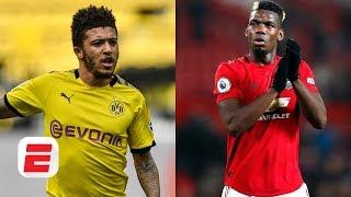 Is Manchester United's Paul Pogba holding up a move for Dortmund's Jadon Sancho? | Transfer Talk