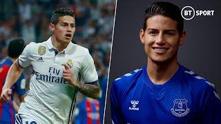New Everton signing James Rodriguez best goals and assists for Bayern and Real Madrid!