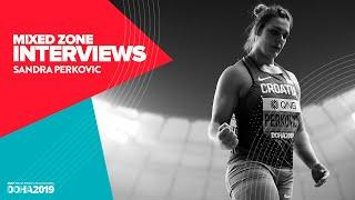 Sandra Perkovic Interview | World Athletics Championships Doha 2019