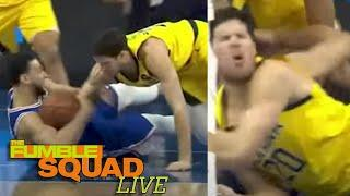 Ben Simmons Knocks Out Doug McDermott's Tooth In Crazy Diving Play For The Ball