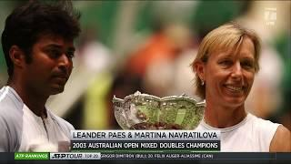 Tennis Channel Live: Martina Navratilova Reflects on Her Australian Open Experiences