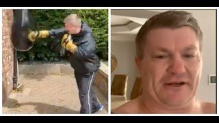 STILL A BEAST! - RICKY HATTON SMASHES UP THE BAG, REACTS TO TYSON FURY v ANTHONY JOSHUA 2-FIGHT DEAL