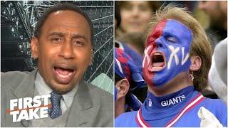 Stephen A. crushes Giants' fans hopes for next season in a scathing rant | First Take