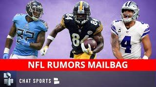 NFL Rumors Mailbag: Delanie Walker To Washington? Titans Signing Antonio Brown? Dak Prescott Future?