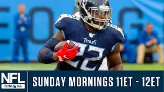NFL Week 11 Picks & Fantasy Advice LIVE: Start 'Em & Sit 'Em, Value Plays & More!