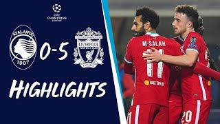Highlights: Atalanta 0-5 Liverpool | Jota's Champions League hat-trick