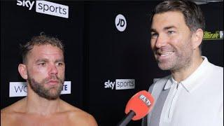 'YOU'RE BEING VERY HARSH' - EDDIE HEARN TELLS BILLY JOE SAUNDERS, REACTS TO MURRAY WIN, CANELO, GGG