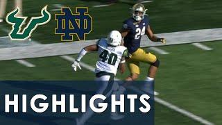 South Florida vs. Notre Dame | EXTENDED HIGHLIGHTS | 9/19/20 | NBC Sports