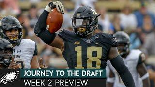 College Football Week 2 Preview w/ Ben Fennell, Jim Nagy & Ross Tucker | Journey to the Draft