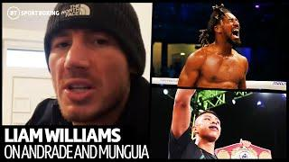 'I'm going to give it to him bad' - Liam Williams on Demetrius Andrade and Jaime Munguia