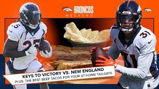 Tacos and takeaways: Atwater's keys to victory for Denver vs. New England   Broncos Weekend