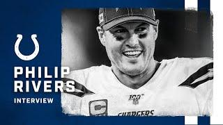 PHILIP RIVERS EXCITED TO SIGN WITH COLTS