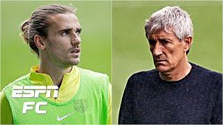 Why Quique Setien is 'powerless' in deciding Antoine Griezmann's future at Barcelona | ESPN FC