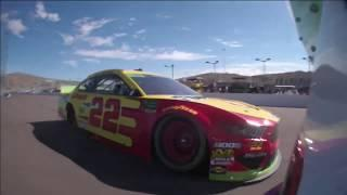Full Race In-car: Denny Hamlin ISM Raceway | NASCAR playoffs in Phoenix