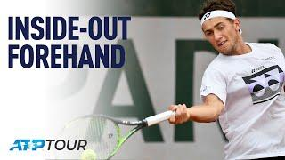 Inside Out Forehand With Casper Ruud | MASTERCLASS | ATP